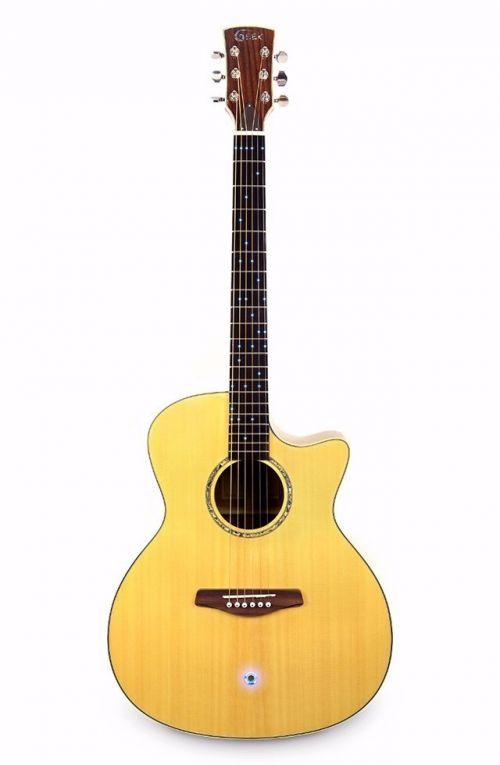 GEEK智能吉他正面