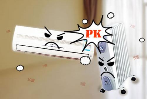 空调与电暖器PK