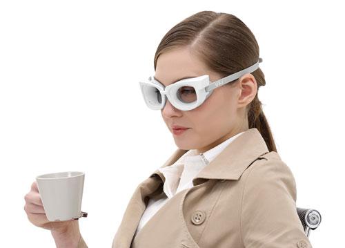 喝咖啡-美女