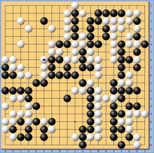 李世石与AlphaGo对战棋谱