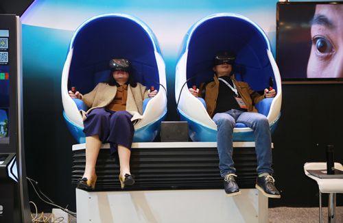 乐客灵境VR蛋椅