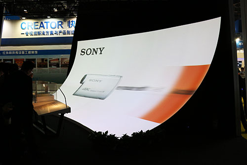 索尼4K投影机