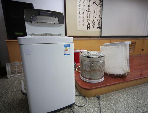 七年洗衣机拆卸图