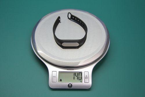 小米手环重量