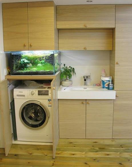 壁橱式洗衣机安装