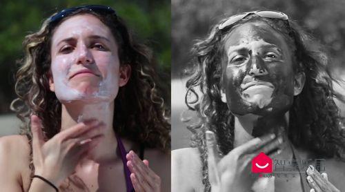 Sunscreenr拍出的照片