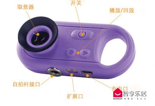 Sunscreenr紫外线相机按键功能