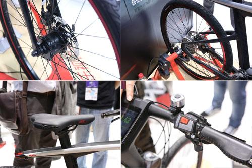 自行车细节