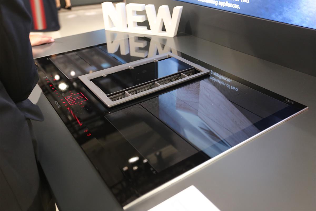 西门子最新的电磁炉和烟机一体