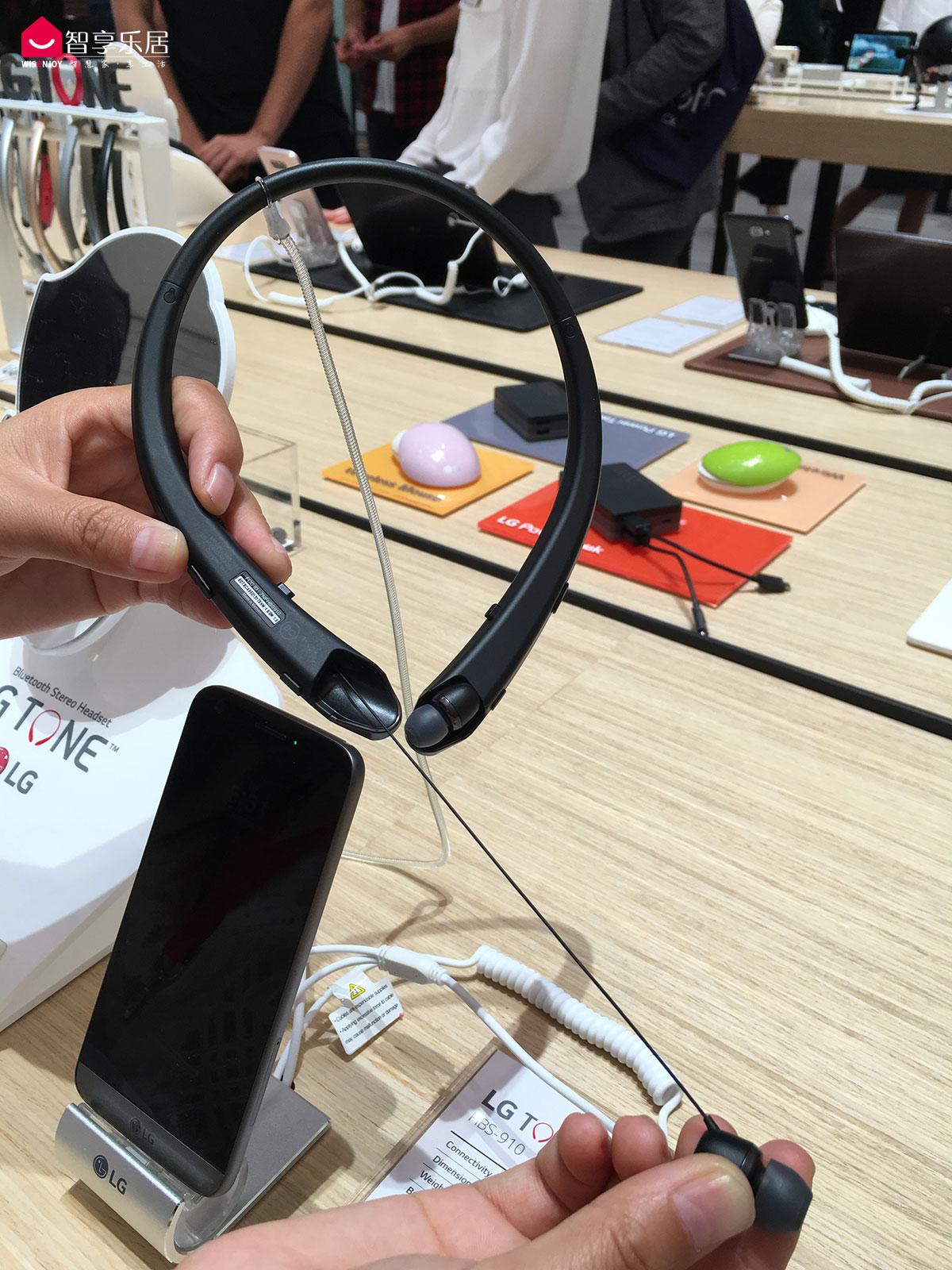 LG-TONE-Platinum蓝牙耳机-1