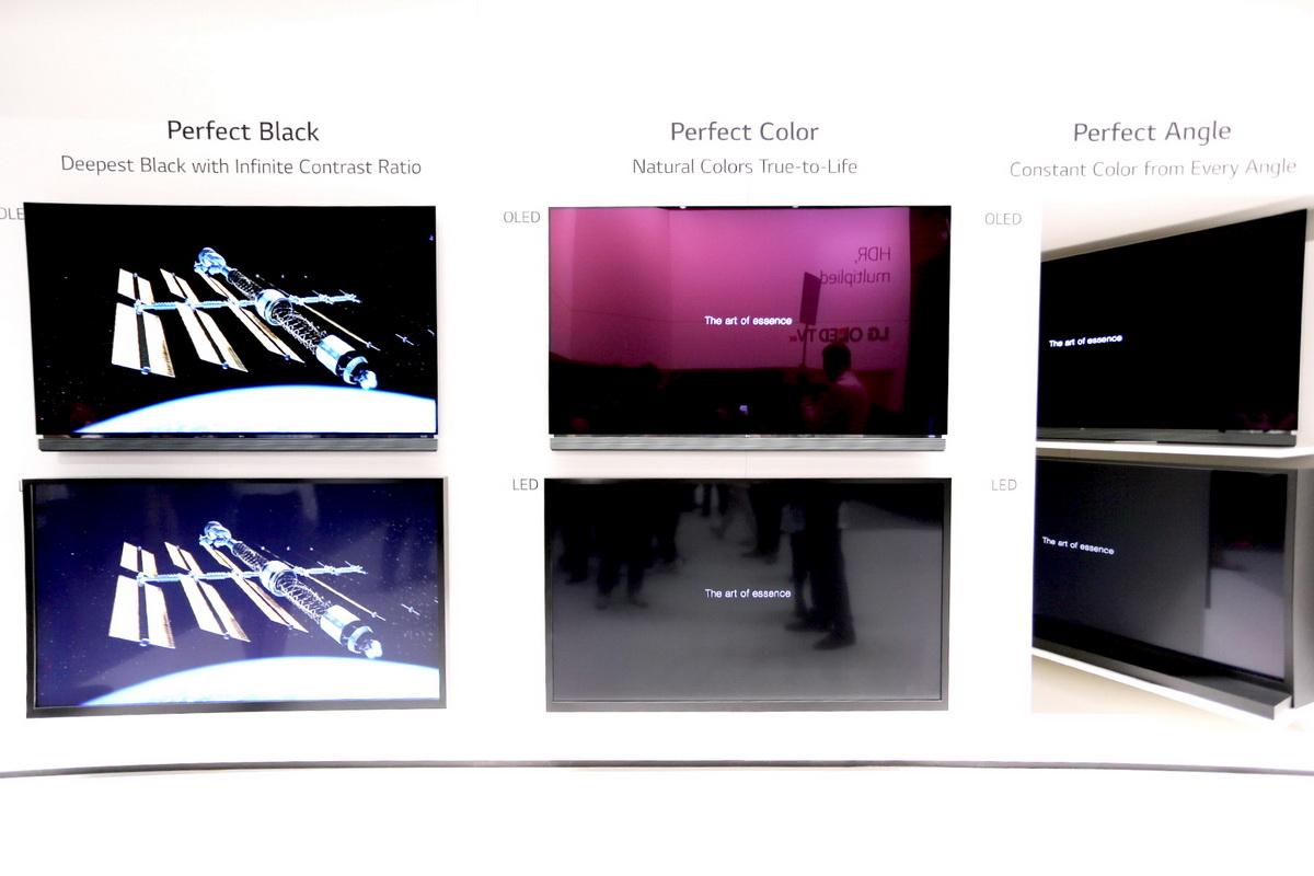 OLED的优势黑色、色彩、和可视角度_exposure
