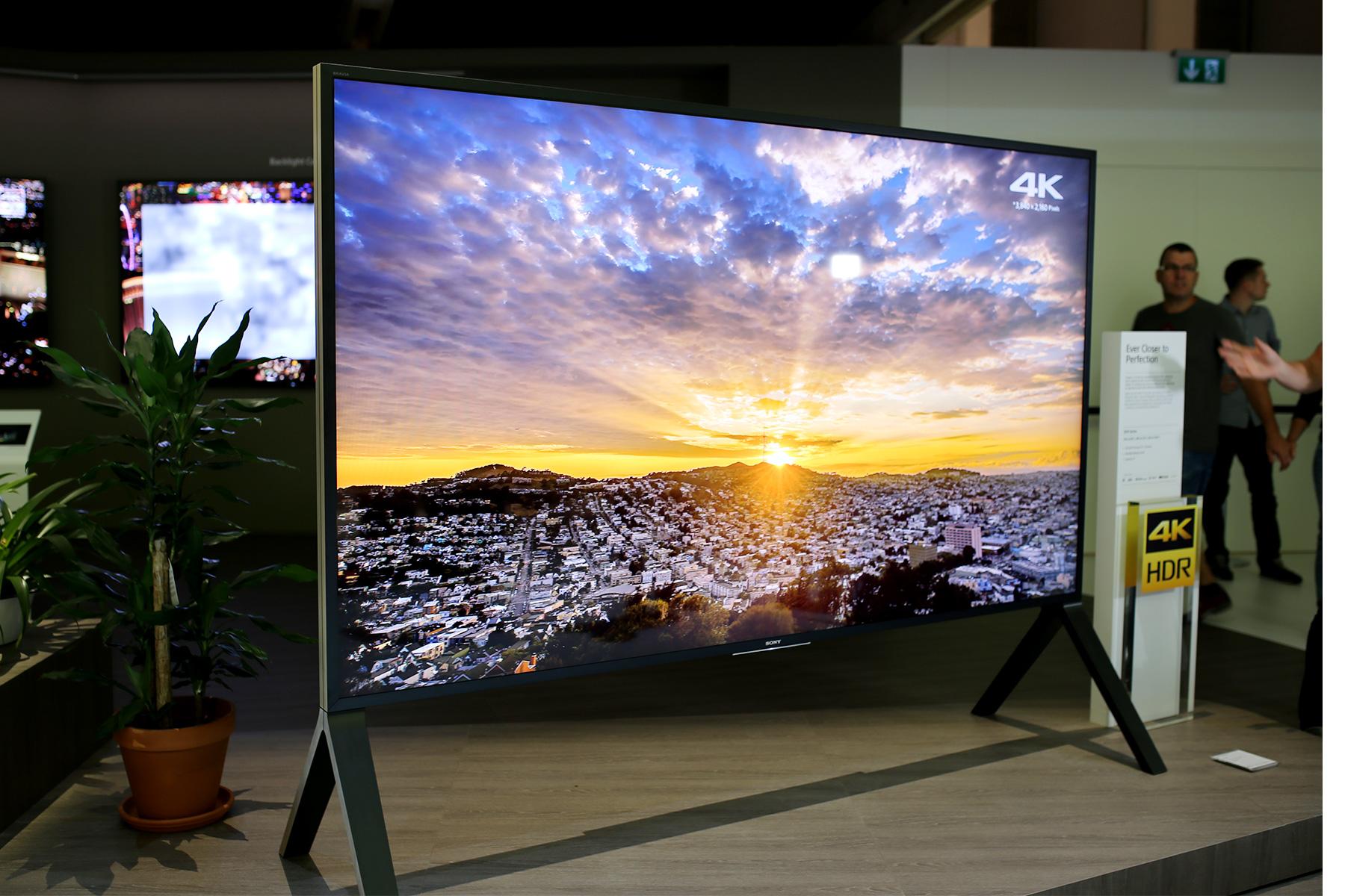 索尼Z9D 100吋4K电视