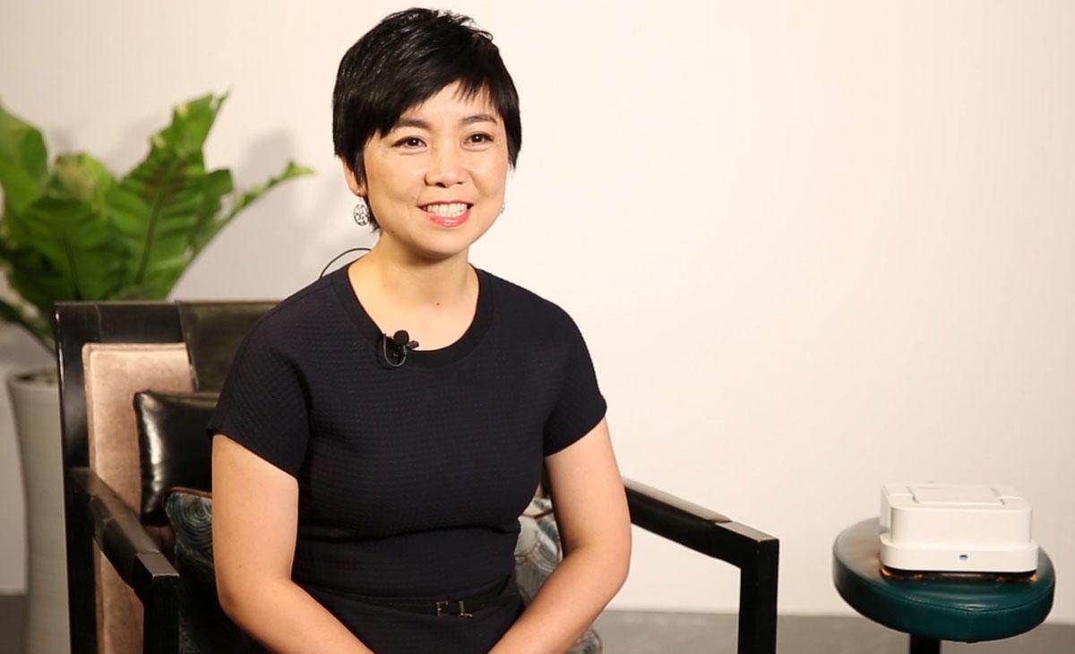 iRobot中国总经理 Kelly Zhang女士