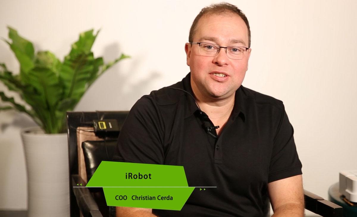 iRobot COO Christian Cerda先生