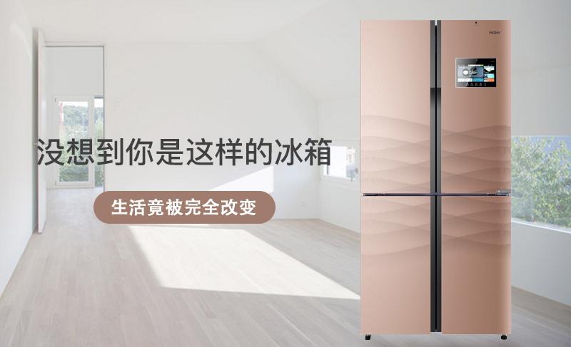 海尔458冰箱头图